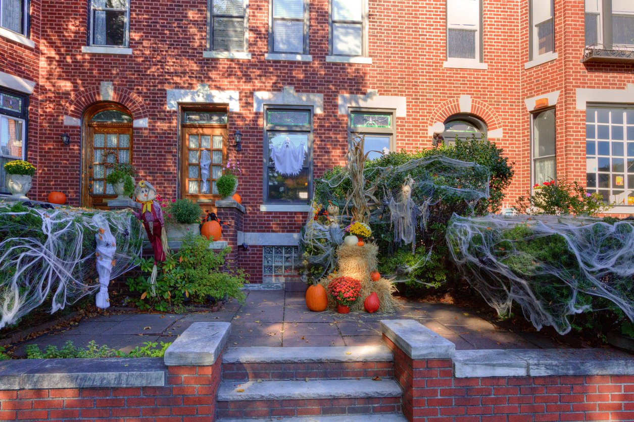 Brooklyn house halloween NYC