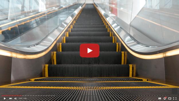 Escalator Injury Video