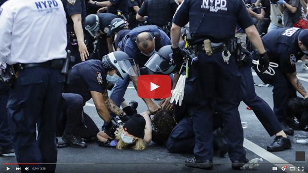 INJURED BY NYPD