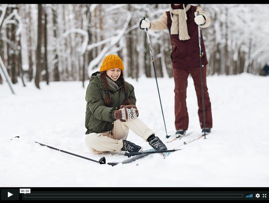 Injured Ski Cover
