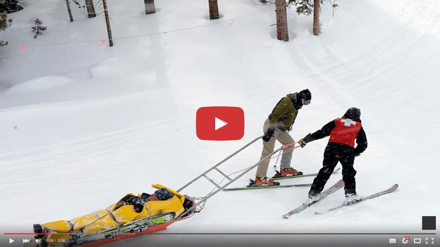 Injured Skier