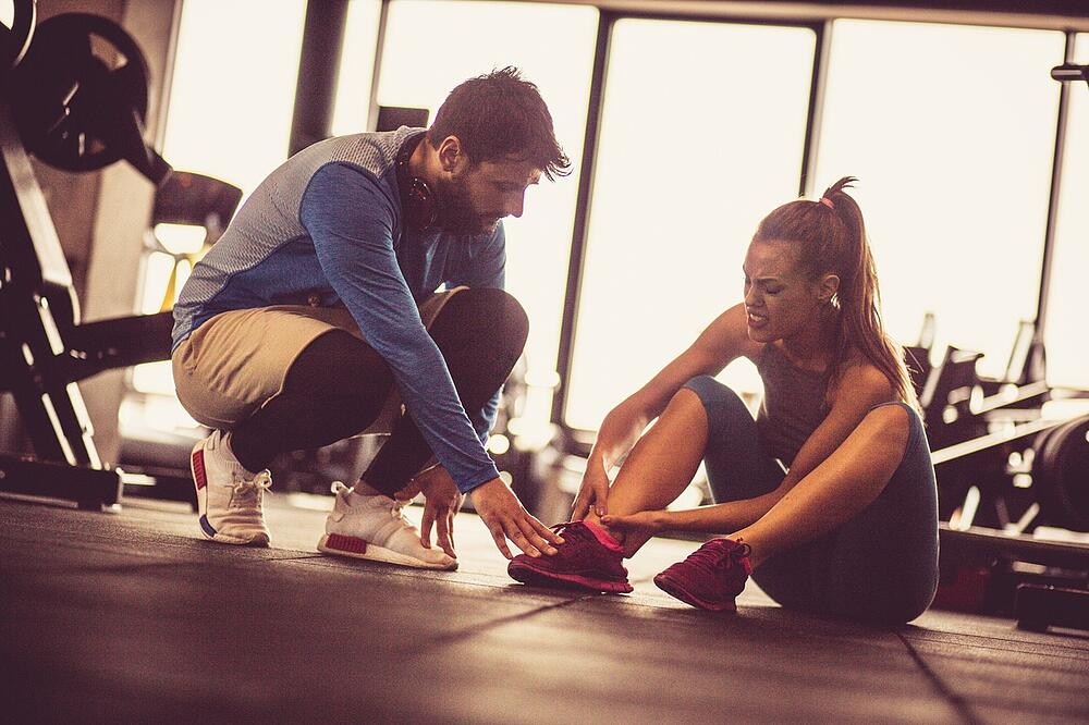 Injured at the gym personal trainer liable