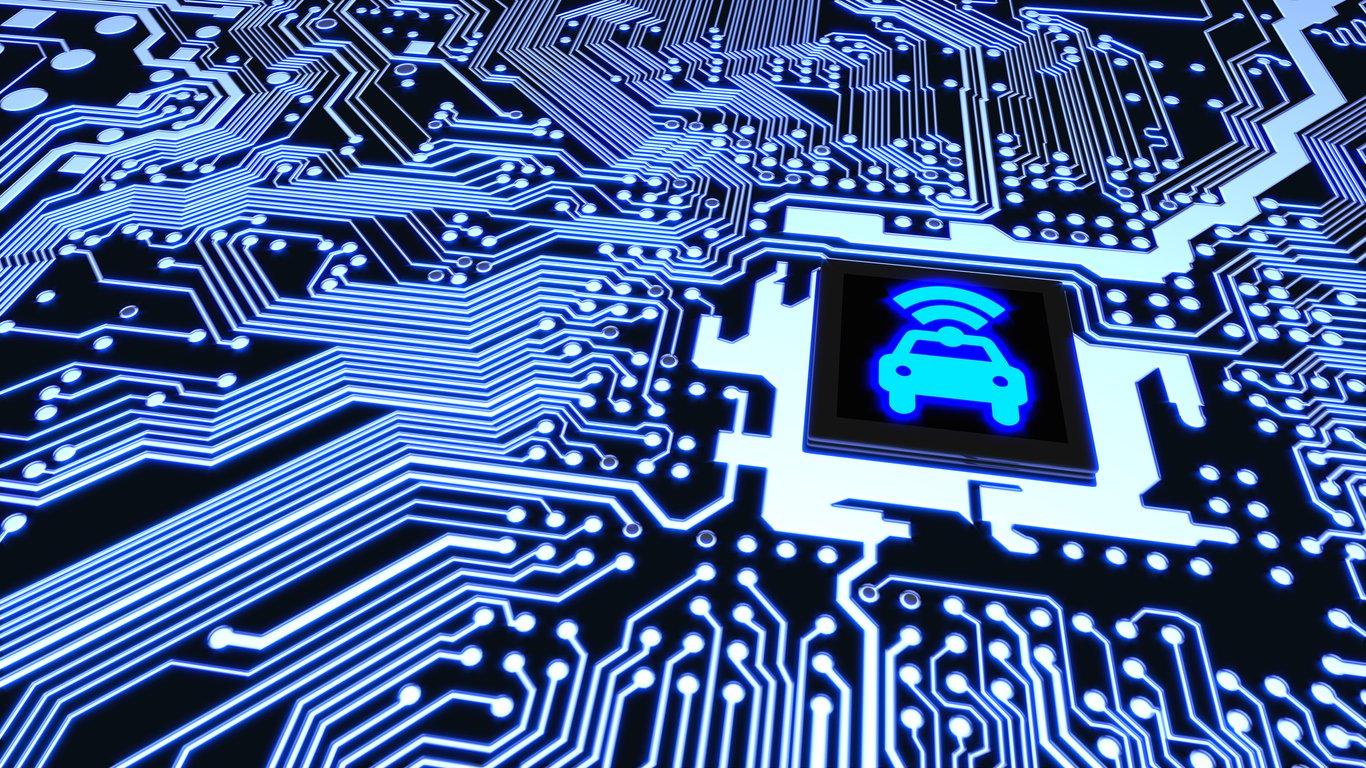 Smart car circuit board