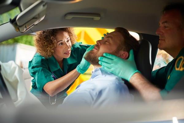 accident seat belt defense
