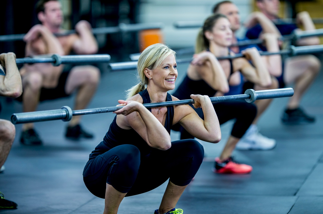 Crossfit Group Fitness Class