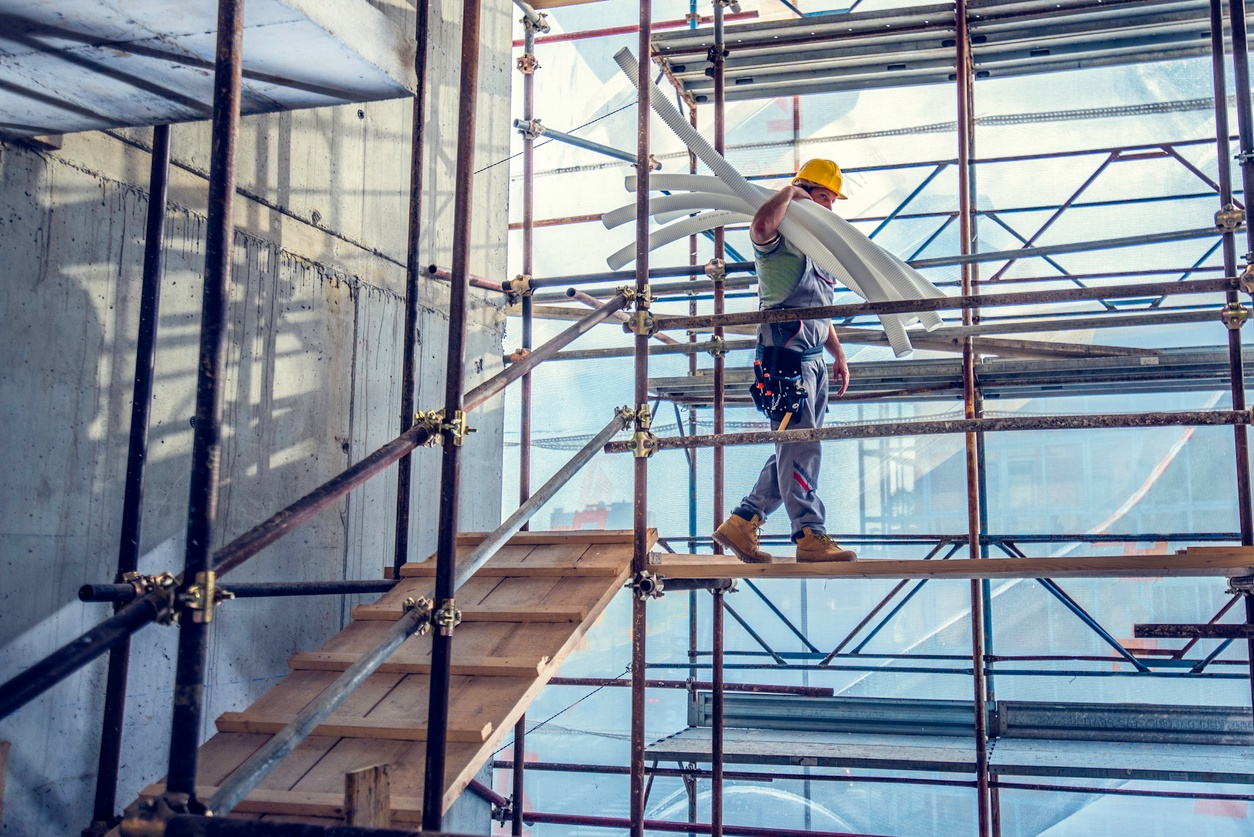 scaffolding construction - personal injury